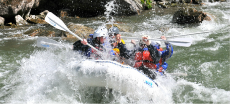 Rafting on the Gallatin River in Big Sky Montana